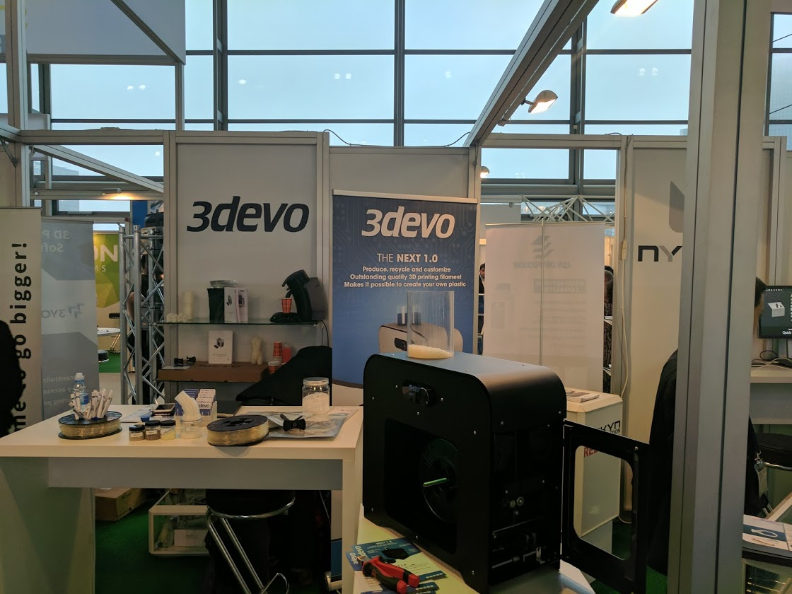 Make Your Own 3d Printing Filament As 3devo Announce Peek Research
