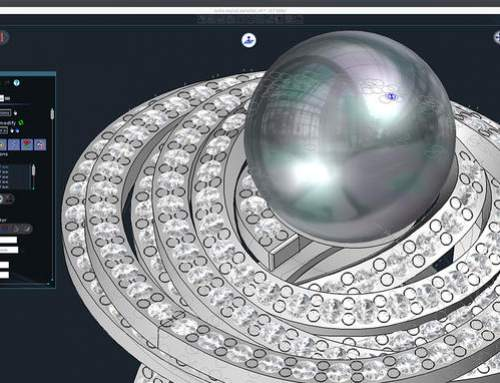 3D printable attention to detail from Type3 CAD software for jewelry design