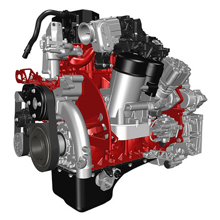 3D design of the Renault engine. Image via Renault Trucks.