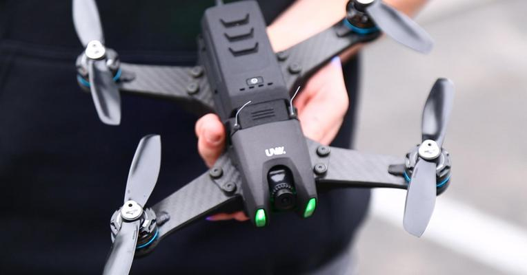 The UVify Draco drone. Photo via TechCrunch.