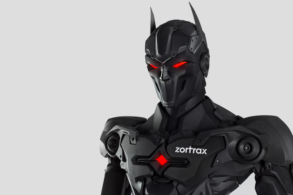The Zortrax 3D printed figure currently being auctioned. Photo via Zortrax.