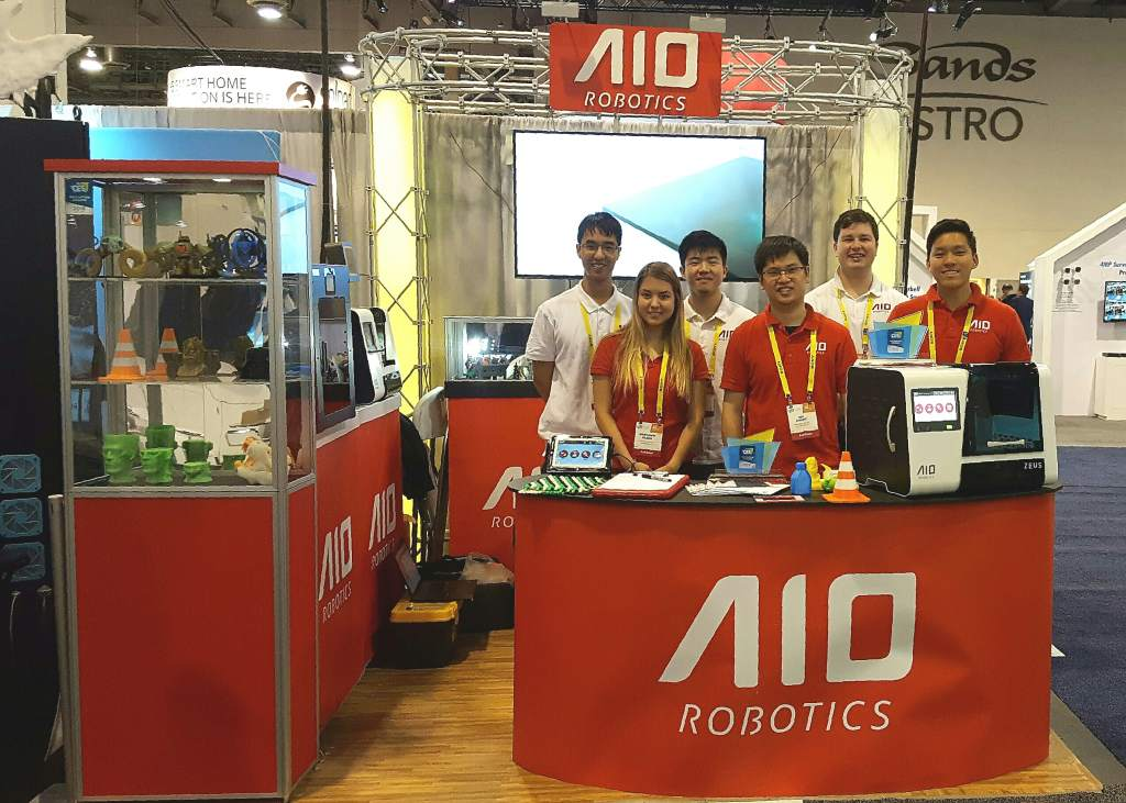 AIO Robotics at CES 2017.