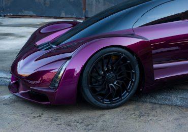 The Divergent 3D Blade Supercar. Photo via: Divergent3D.com