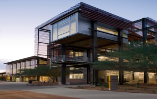 The ASU Polytechnic building. Photo via Green Ideas.