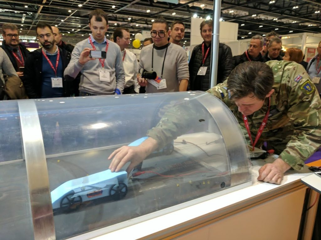 Bloodhound SSC at Bett 2017. Photo by Michael Petch.