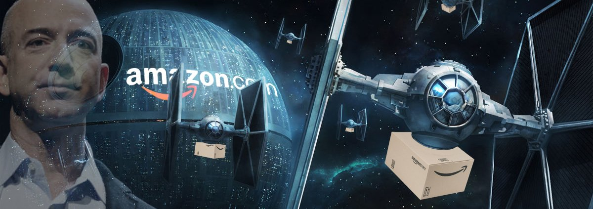 Could this be the start of Amazon's Imperial Empire. Image via @JoshuaBaker on Twitter.