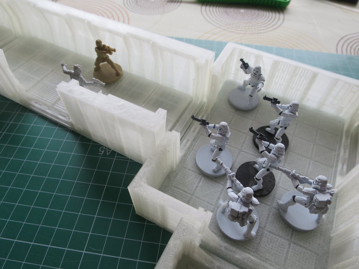 Ngauge's 3D printed Imperial Assault creation. Photo via Ngauge.es on Twitter.