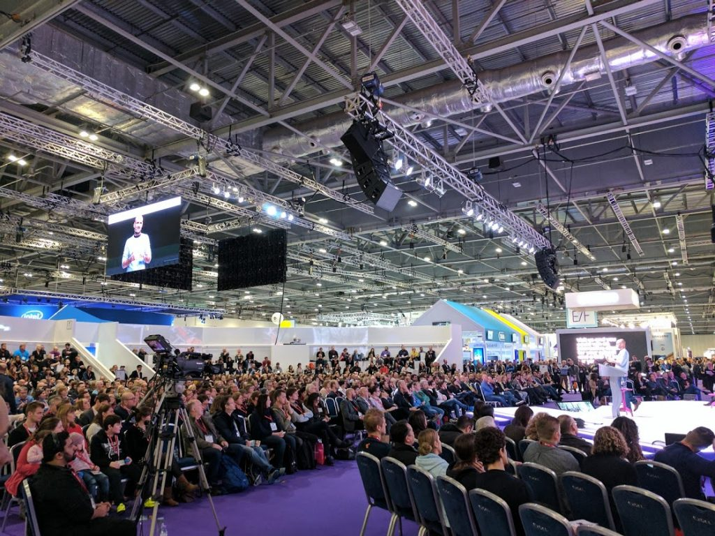 Crowd at Bett 2017. Photo by Michael Petch.