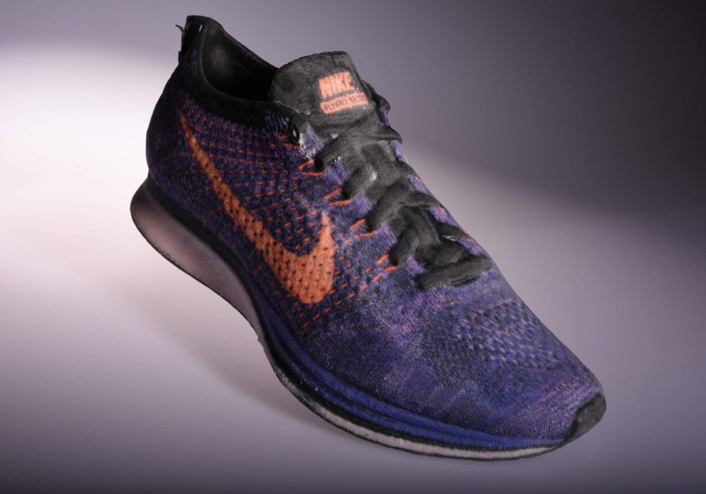 A Nike Sneaker prototype made on Mcor 3D printers. Photo via: Mcor