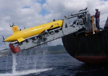 One of ISE's AUV submarines. Image via International Submarine Engineering.