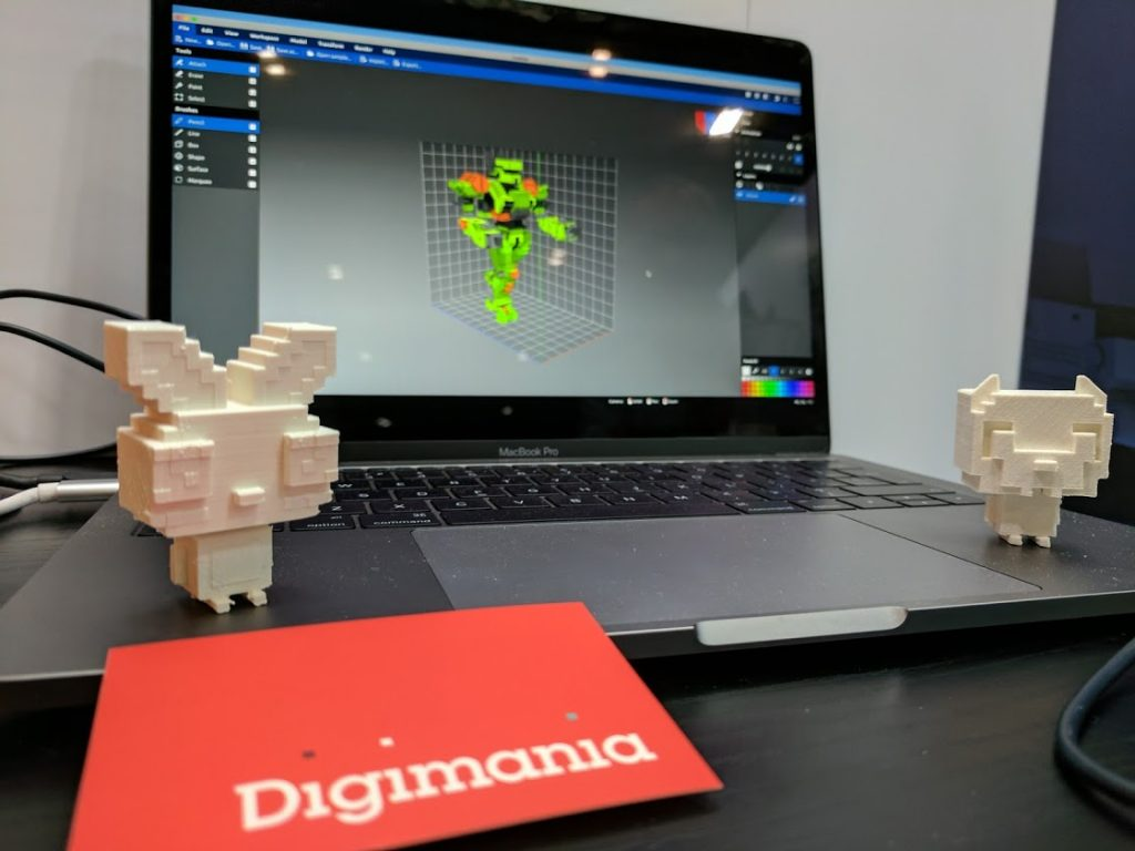 Digimania at Bett 2017. Photo by Michael Petch.