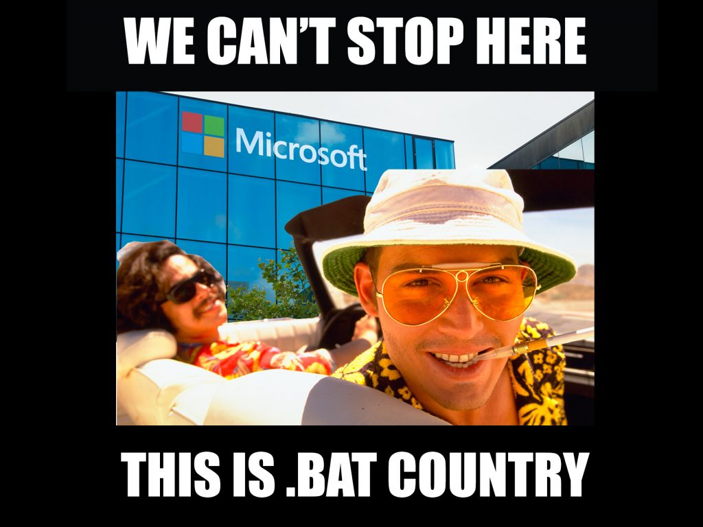Meme by 3DPI's Beau Jackson. With apologies to Swift on Security.