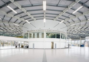 The University of Sheffield's Factory 2050, part of the city's Advanced Manufacturing Innovation District. Photo by: Bond Bryan via sheffieldbusinesspark.co.uk