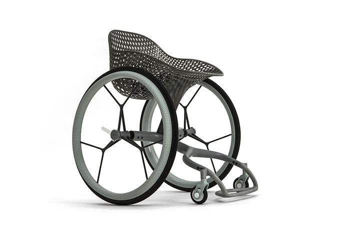 The GO wheelchair by Layer. Image via Layer.