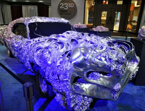 3D printed liquid metal Ford Torino up for auction