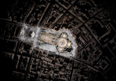 A 3D scanned aerial view of the Cattedrale di Santa Maria del Fiore in Florence. Image via: ScanLAB Projects