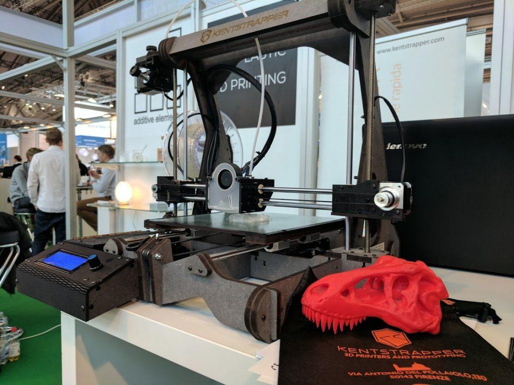 Kentstrapper 3D Printer. Photo by Michael Petch.
