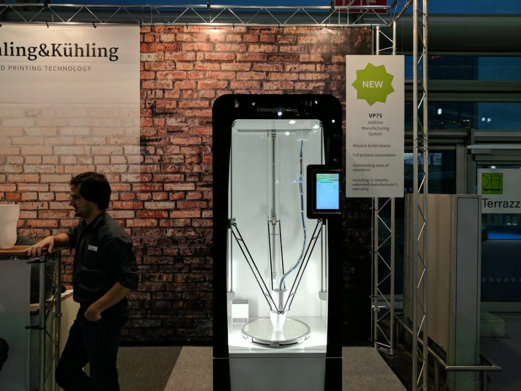 Kuhling and Kuhling 3D Printer. Photo by Michael Petch.