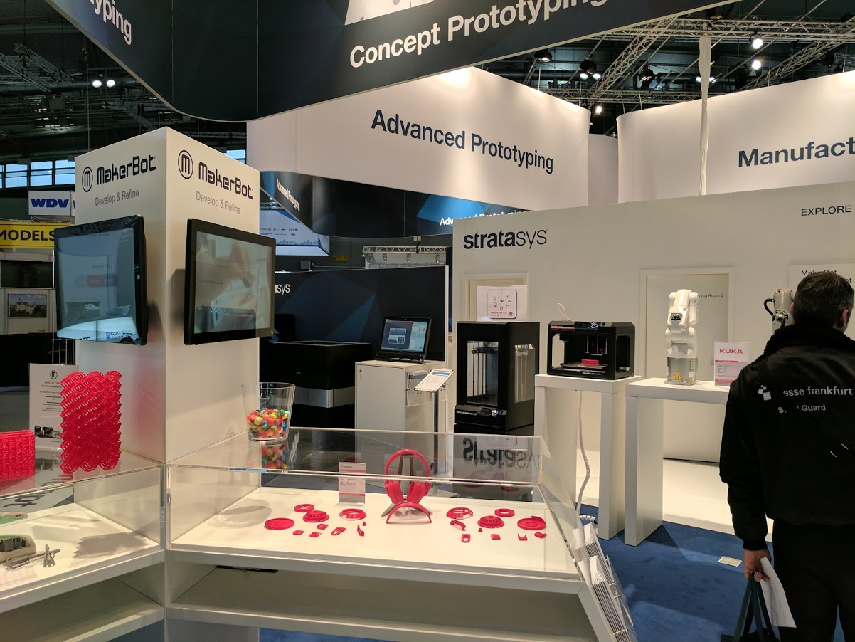D Printing Exhibition Billingsgate : D printing business makerbot lays off of staff
