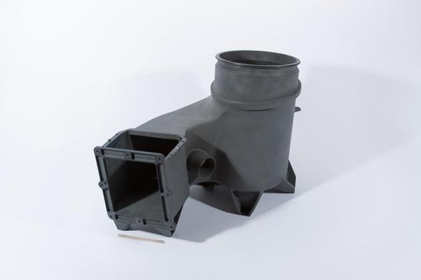 The OXFAB® Complex Structural Component by OPM for the Boeing CST-100 Starliner. Image via Oxford Performance Materials.