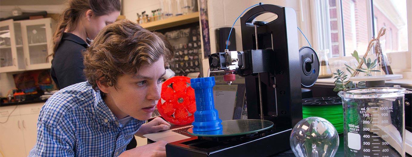 Polar 3D printer in use by students. Photo via Polar 3D.