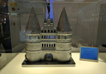 SLM Solutions metal additive castle. Photo by Michael Petch.