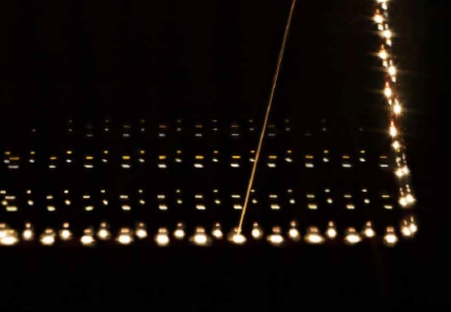 Electron Beam Melting (EBM) by Arcam additive manufacturing. Photo via: Arcam AB