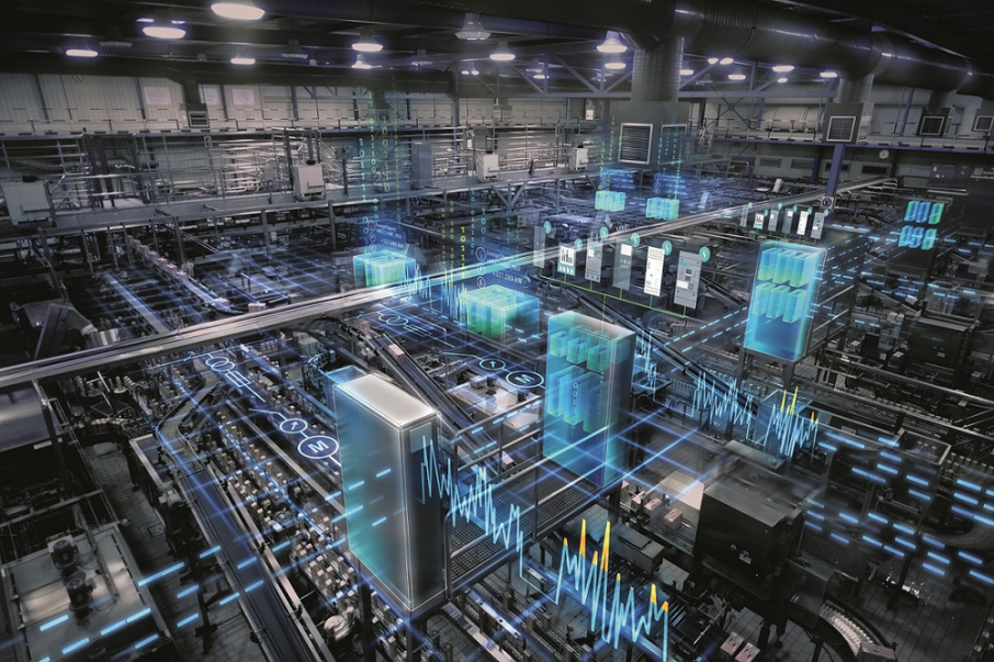 A vision of the digital factory of the future from Siemens - who already have implemented