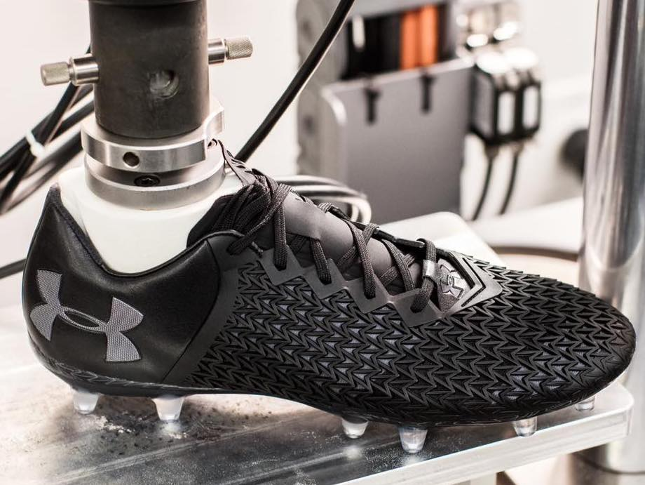 Under Armour predict the future of sportswear in 3D printing and IoT