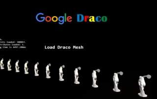 Google's new Draco 3D compression software. Image via Google.