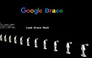 Google's new Draco 3D compression software. Image via Google.