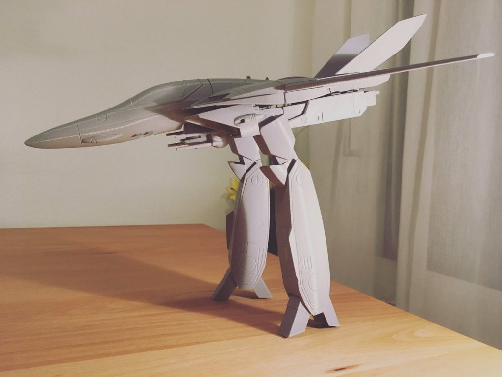 The transformed VALKYRIE Photo by: Jurica Pranjic, @3Dworkbench on Twitter