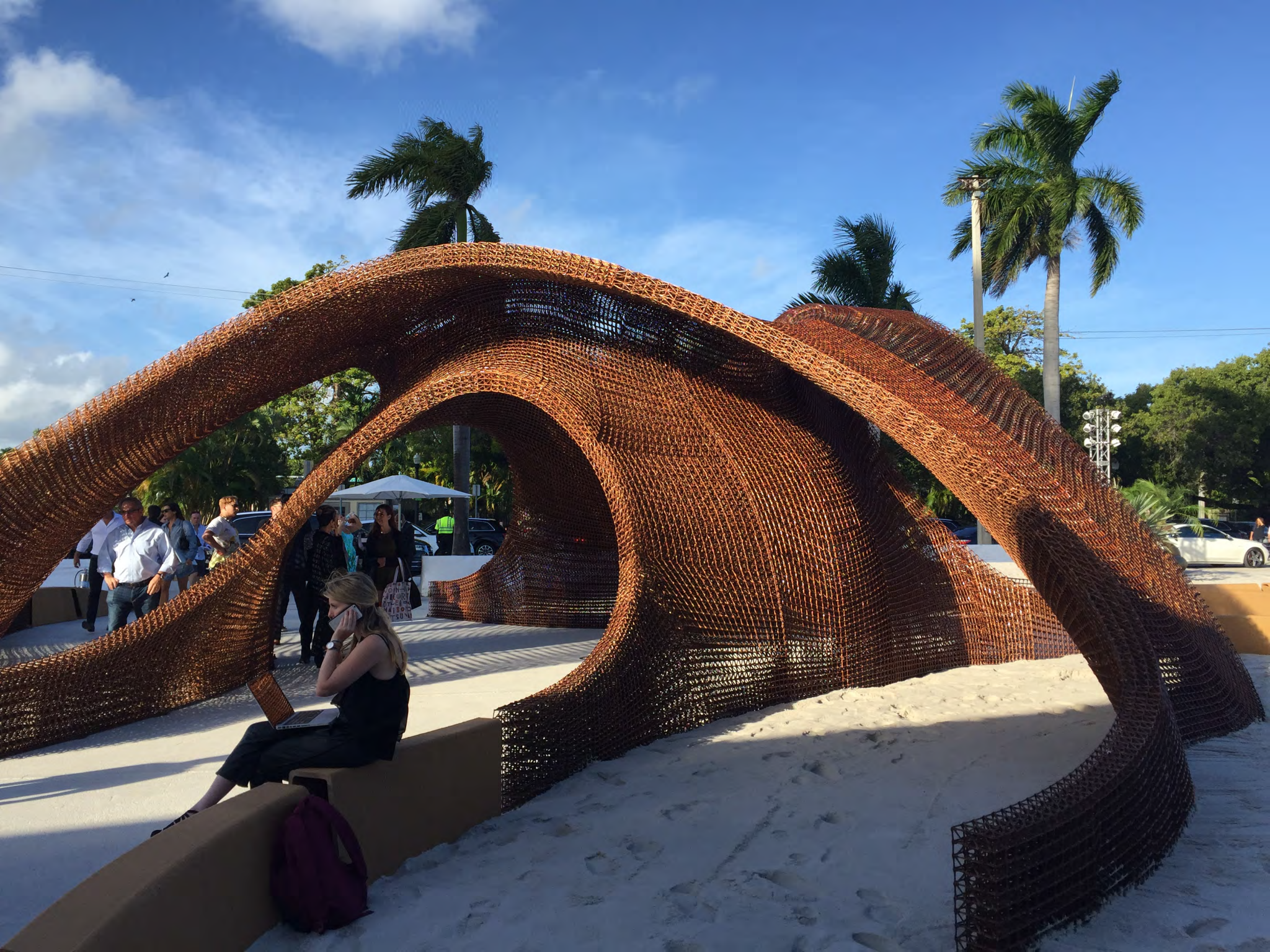 Another angle of the Flotsam and Jetsam design. Photo via Branch Technology.
