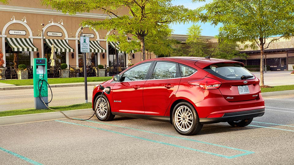 The Ford Focus Electric is an electric vehicle already being produced by Ford. Image via Ford.