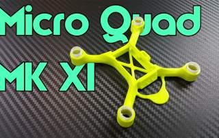 The Neatherbot Micro Quad MK XI. Image via Neatherbot on MyMiniFactory.