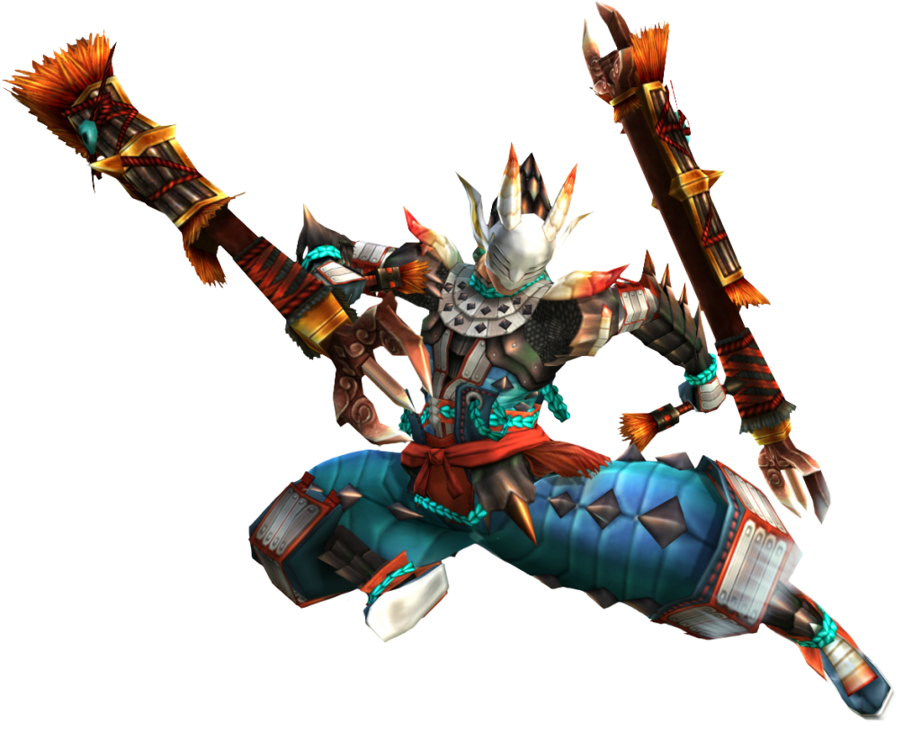 Monster Hunter Generation Jinouga character armour. Image via Monster Hunter.