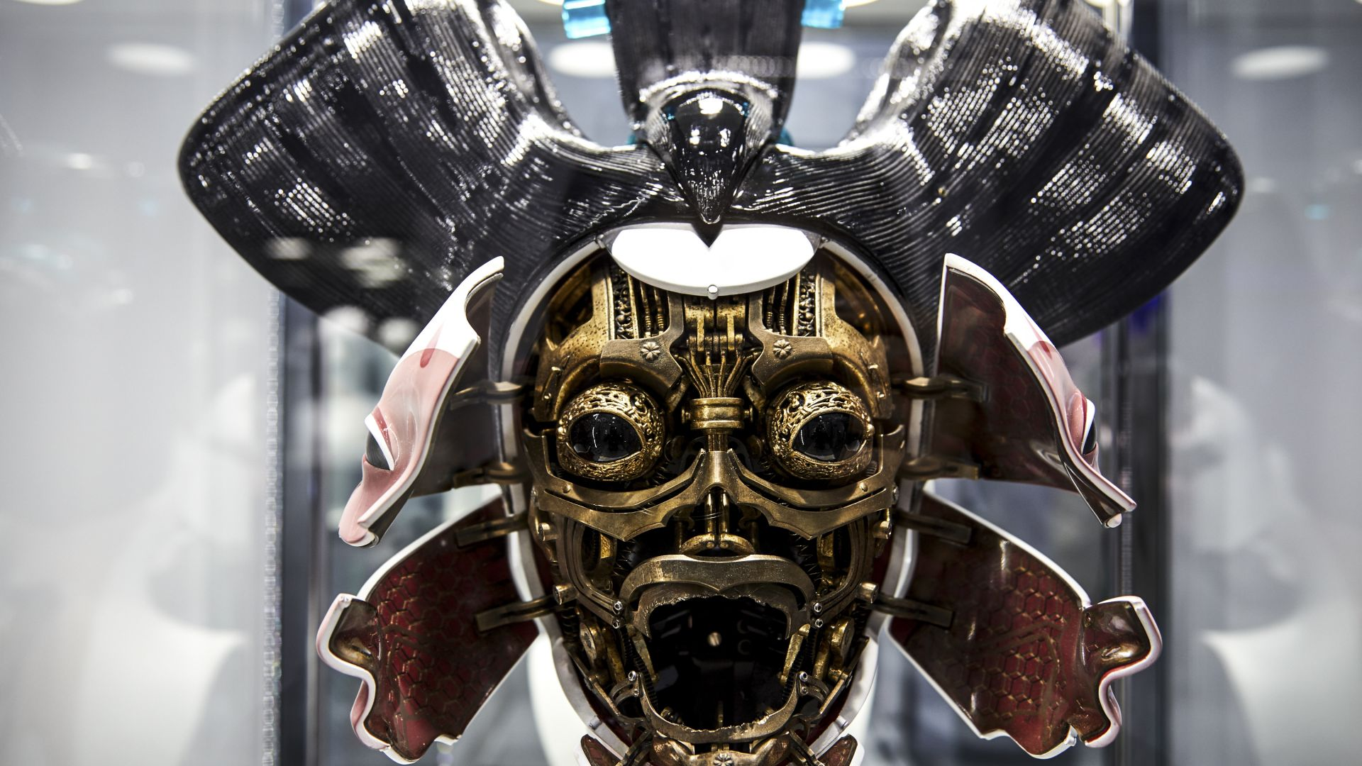 3d Printing Brings Ghost In The Shell Geishas To Life 3d Printing Industry