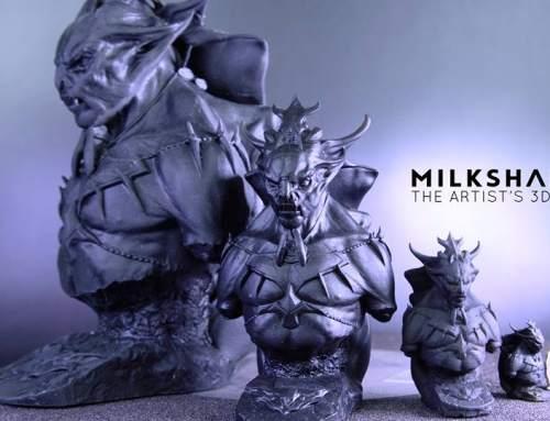 Milkshake3D launching new SLA 3D printer on Kickstarter