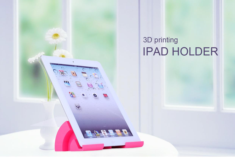 The 3D printed iPad holder. Image via Winbo.