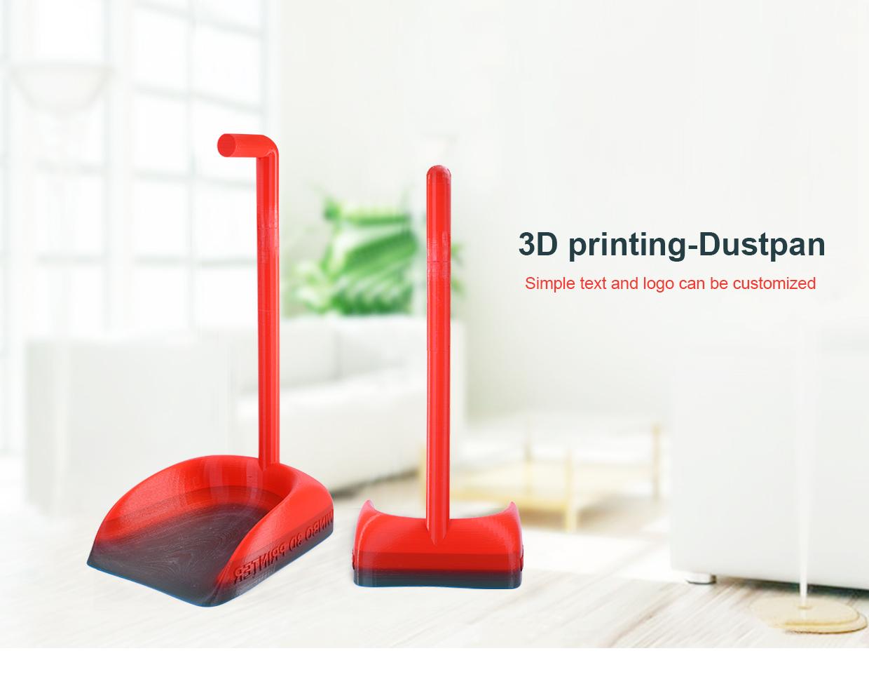3D printed dust pan. Image via Winbo.