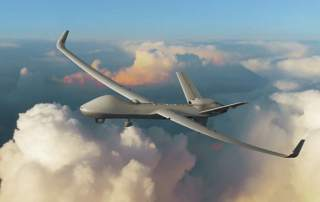 An unmanned aerial vehicle being developed in the UK. Image via GA-ASI.