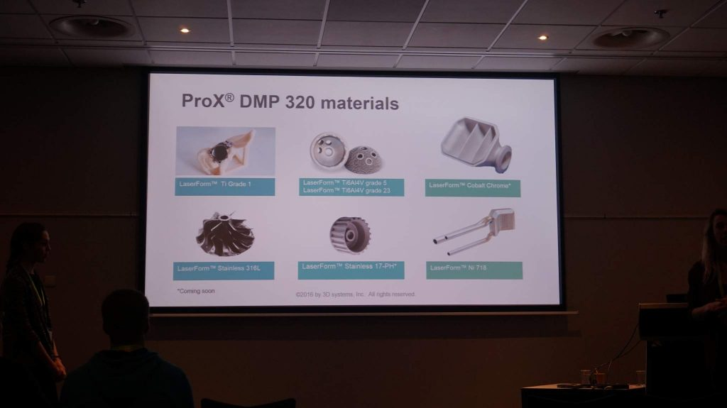 3D Systems presentation on applications for metal 3D printing.