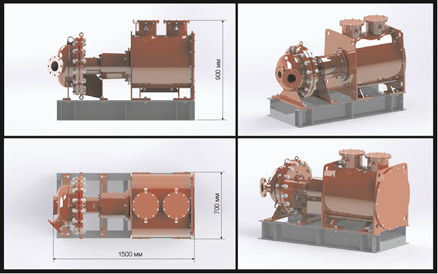 A 3D model of the SPbPU plastic combustion engine. Image via: SPbPU