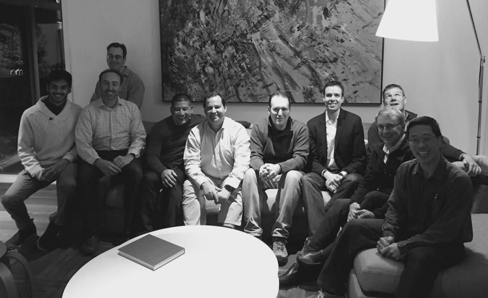 Some of the Desktop Metal team. Photo via Desktop Metal.