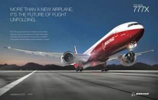 777x Boeing's future of flight.