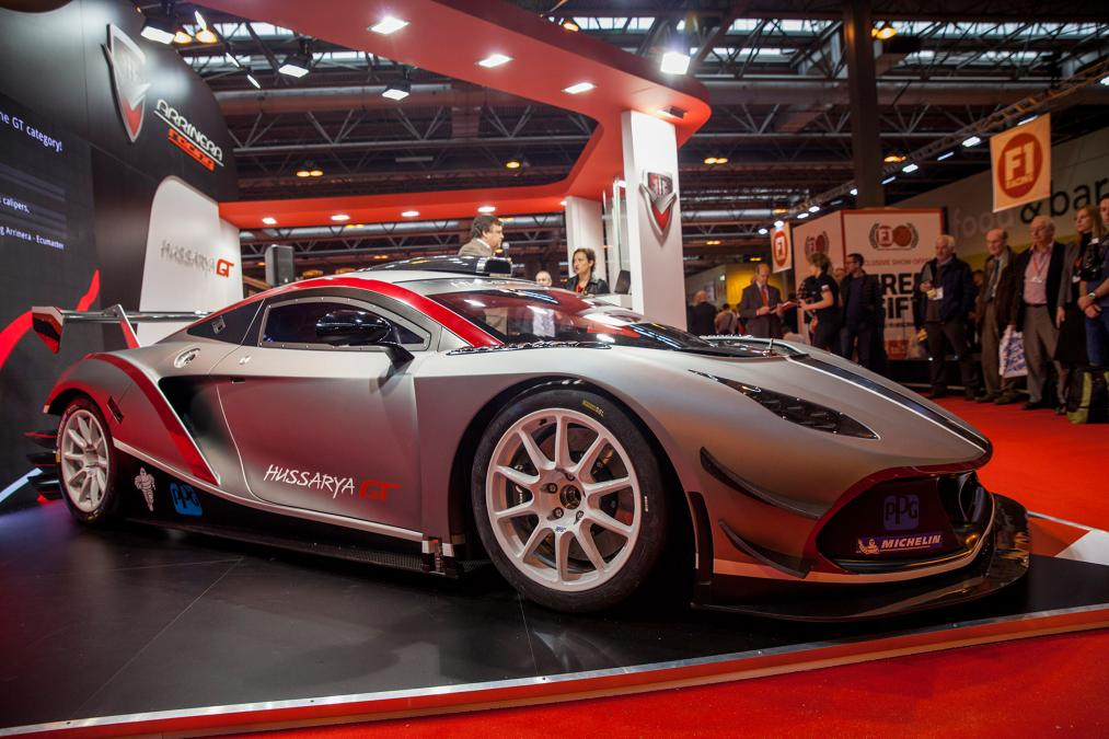 The Arrinera Hussarya at Birmingham Autoshow in 2016 Photo via Autoexpress.co.uk