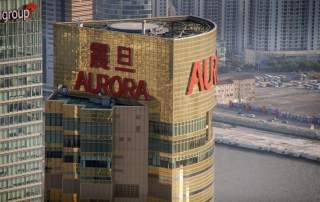 The Aurora Plaza building in Shanghai Photo by Jakob Darger