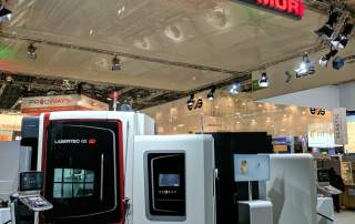 DMG MORI Lasertec 65 3D at Formnext 2016. Photo by Michael Petch.