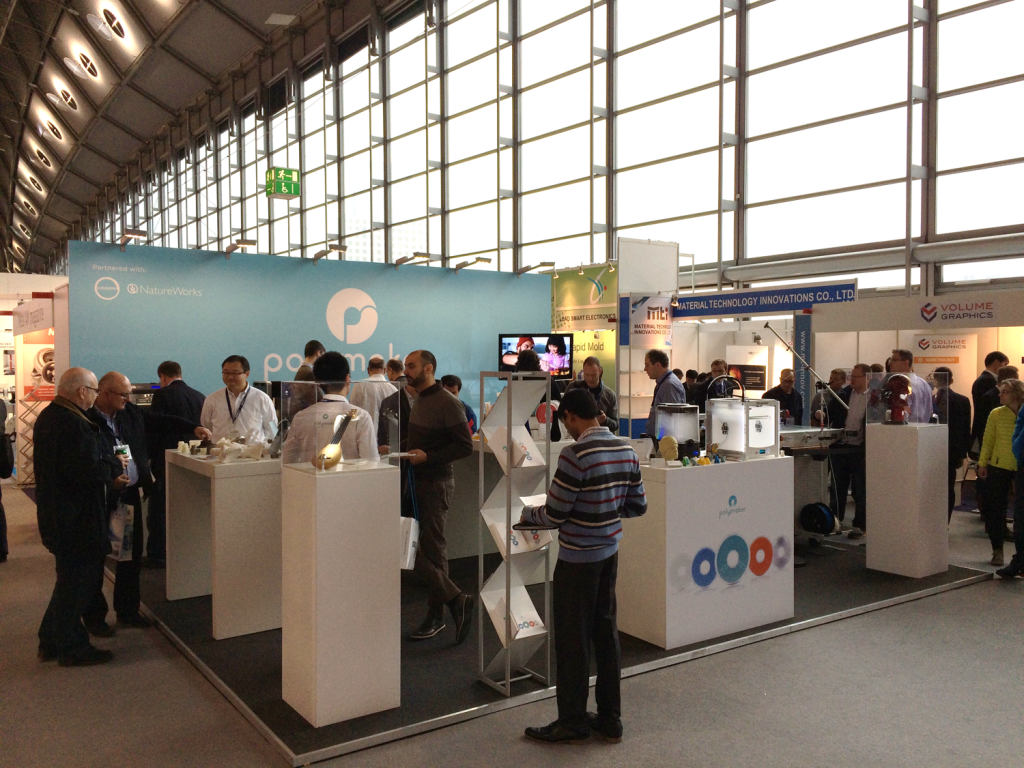 Polymaker during Formnext 2016. Photo via Polymaker.