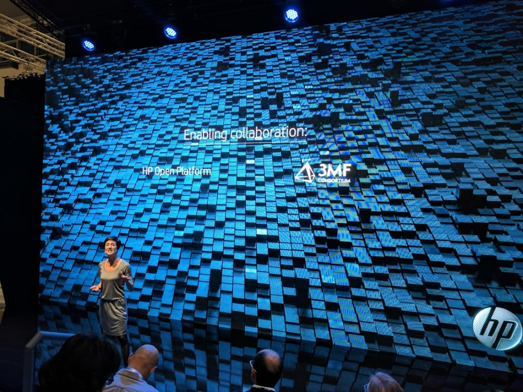 HP present their Voxel Vision. Photo by Michael Petch